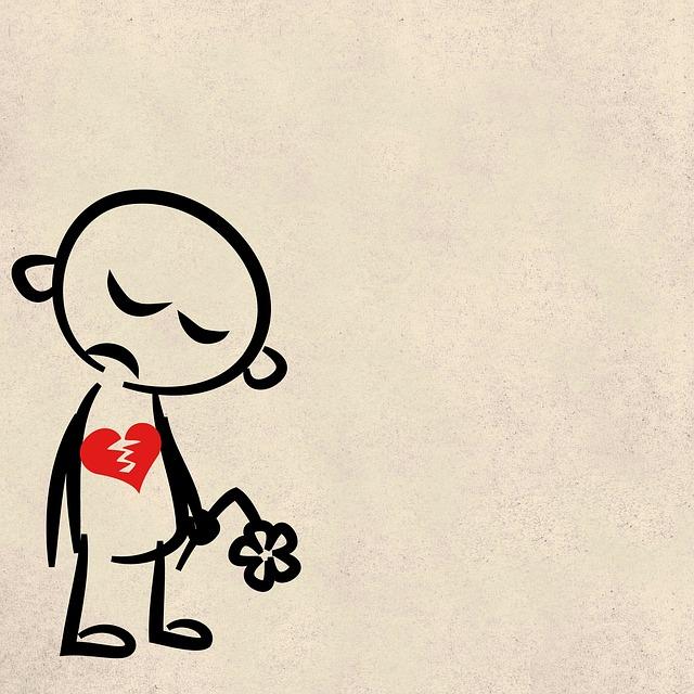 心が傷ついた人